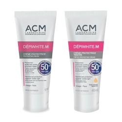 Изсветляващ слънцезащитен крем с фактор 50, без или с цвят